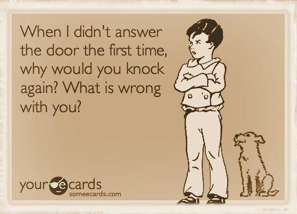 Why knock again 2